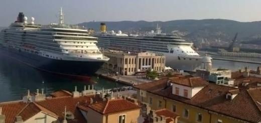 trieste due navi da crociera