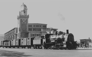 Trieste treno sulle Rive