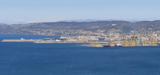 Porto di Trieste - panorama