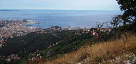 Trieste_dal_carso