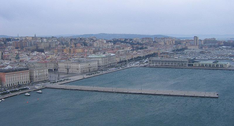 Trieste, foto  del 3 gennaio 2016 alle ore 9,30