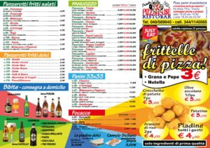 pizzahouse menu aprile 2017