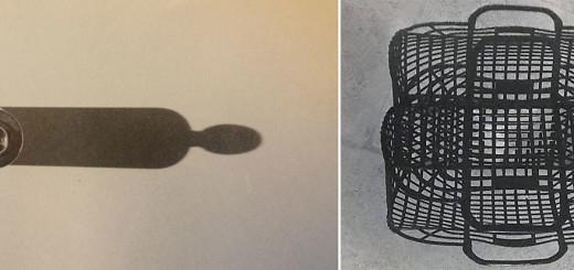 Cristiana Moldi Ravenna, studi di ombre per la serie di opere Sottosopra, fotografie, 1985