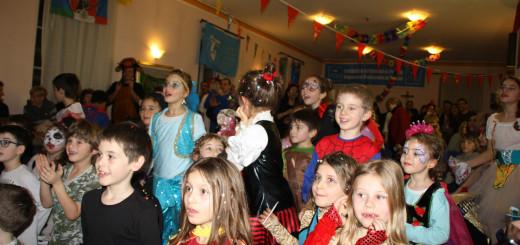Carnevale dei bambini Polizia
