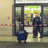 rapina supermercato via paisiello