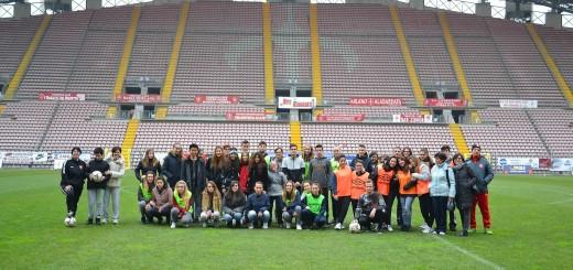 Sandrinelli studenti stadio Nereo Rocco Triestina calcio
