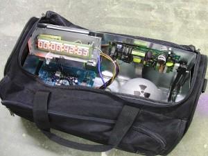 zaino bomba