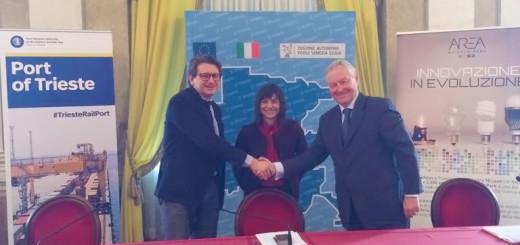 Porto Trieste e Area Science Park protocollo intesa