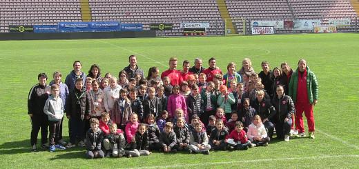 scuola San Giusto Martire allo stadio Nereo Rocco di Trieste