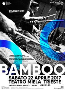 Bamboo locandina Teatro Miela Trieste
