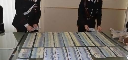 Carabinieri sequestro banconote contraffatte Trieste