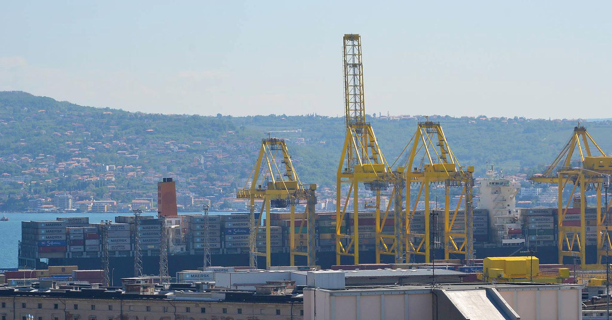 Maersk Eureka a Trieste - foto Arianna Braini