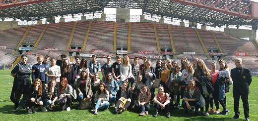 Sandrinelli-Da Vinci allo stadio nereo Rocco di Tr