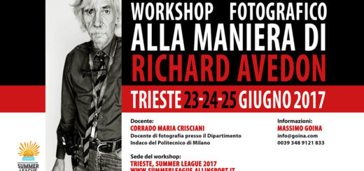 workshop fotografico Richard Avedon Muggia