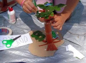 laboratorio creativo albero