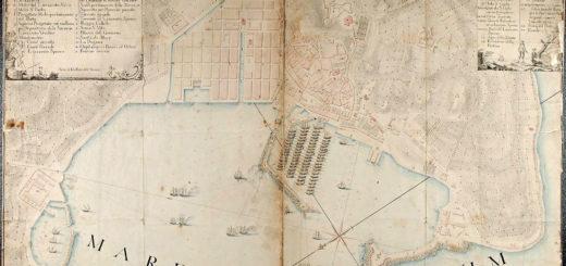 pianta marittima di Trieste