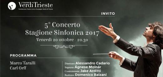 Teatro Verdi concerto Carmina Burana
