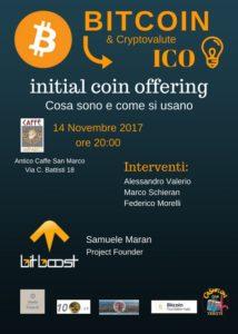 Bitcoin Cryptovalute ICO