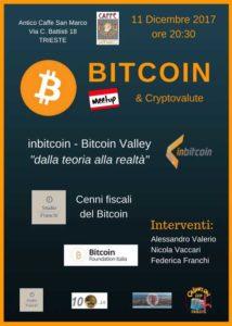 meetup Bitcoin e Cryptovalute