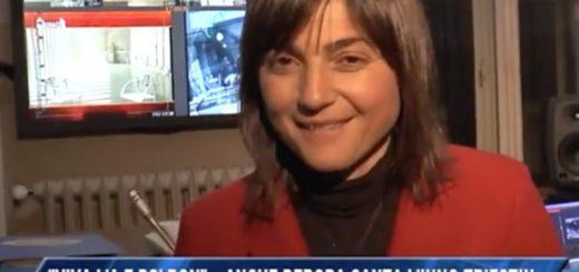Debora Serracchiani canta in triestino su Telequattro