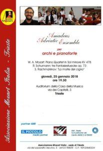 Amadeus concerto Casa della Musica