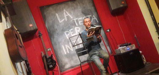 Corrado Premuda reading Icolari Arcade Trieste