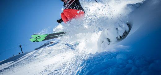 Pramollo Nassfeld sci sciatore wallpaper sfondi desktop