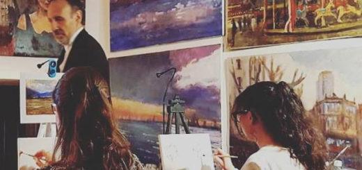 corsi di pittura Roberto del Frate