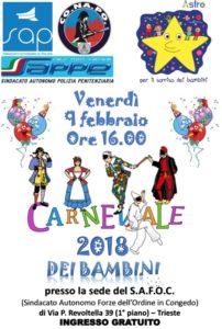 Carnevale Sap 2018