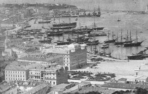 Porto di Trieste asburgica 1800 Maria Teresa d'Austria