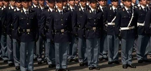 allievi di Polizia Sap