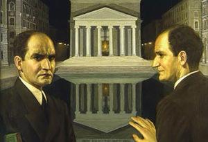 Cesare Sofianopulo - Autoritratto bifronte 1936