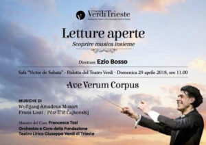 letture aperte teatro Verdi di Trieste