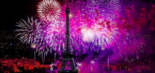 Parigi fuochi d'artificio