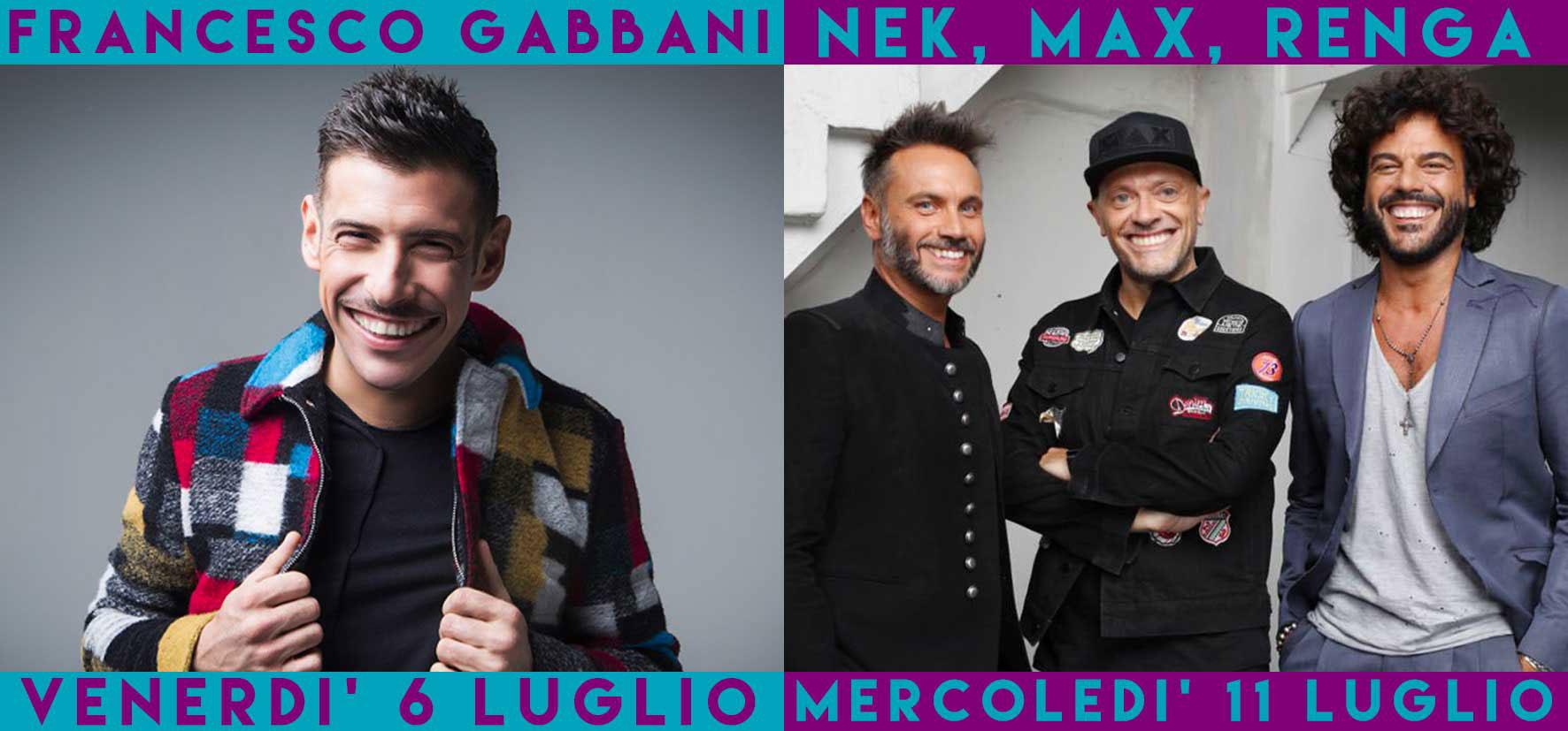 Francesco Gabbani - Nek - Max - Renga