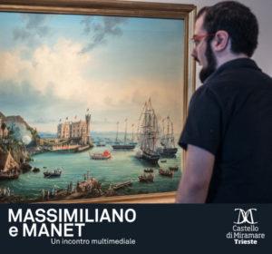 Massimiliano e Manet Miramare Trieste