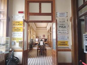 stazione Campo Marzio museo storico treni