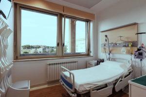 stanza di ospedale sanità