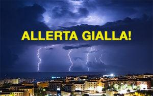 allerta gialla meteo temporali
