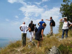 escursione Carso Santa Croce Vedetta Slataper