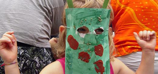 laboratorio maschere nascoste Cooperativa Curiosi di natura