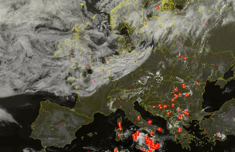 meteo Trieste 20 agosto 2018