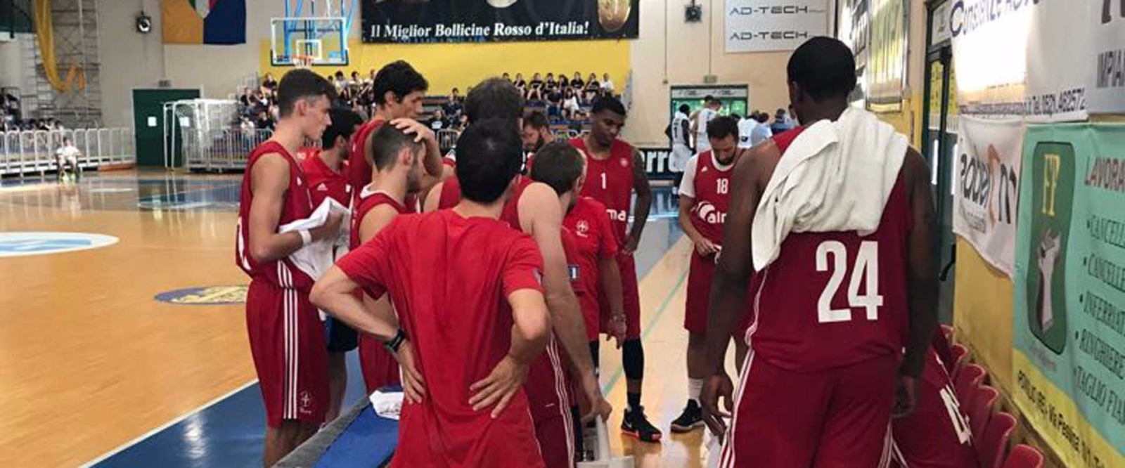 Alma pallacanestro Trieste time-out