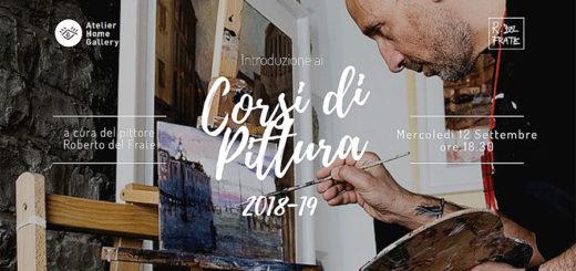 corso pittura Roberto Del Frate Atelier Home