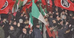 manifestazione corteo CasaPound