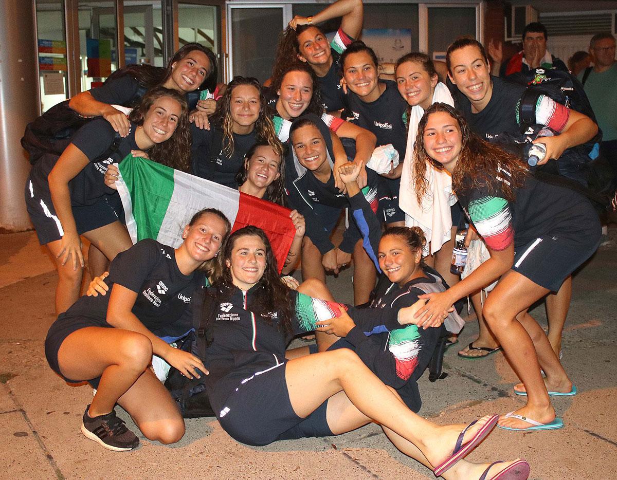 mondiale Under 18 femminile pallanuoto Belgrado