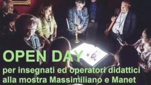 open day mostra Massimiliano Manet Castello di Miramare Trieste