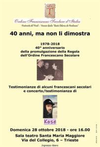 Kose francescani