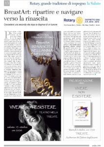 BreastArt articolo Sole24ore