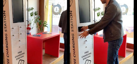 free charging station infopoint Comune di Trieste